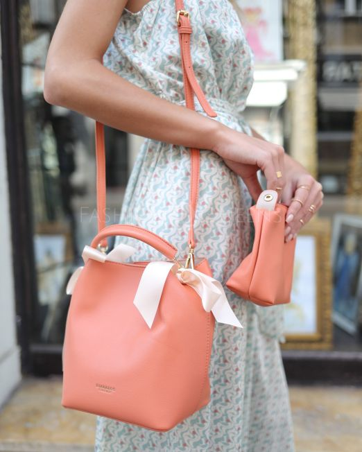 Diana Bag Peach (5)