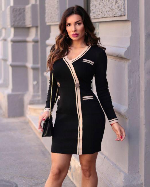 Fabiola Dress Black (3)
