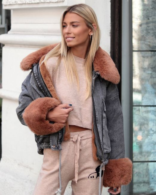 Naomie-Denim-Jacket-Fur-Camel (1)