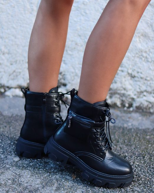 Michele Chunky Ankle Boots