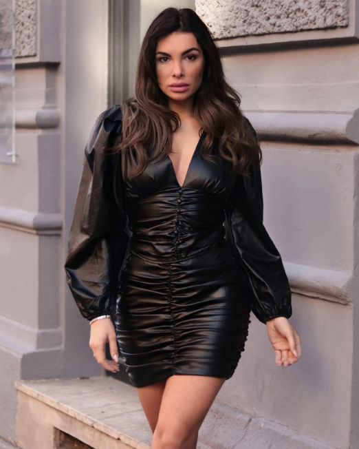Lisbeth Shirt Faux Leather (3)