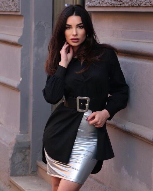 Xenia II – Latex Skirt (1)