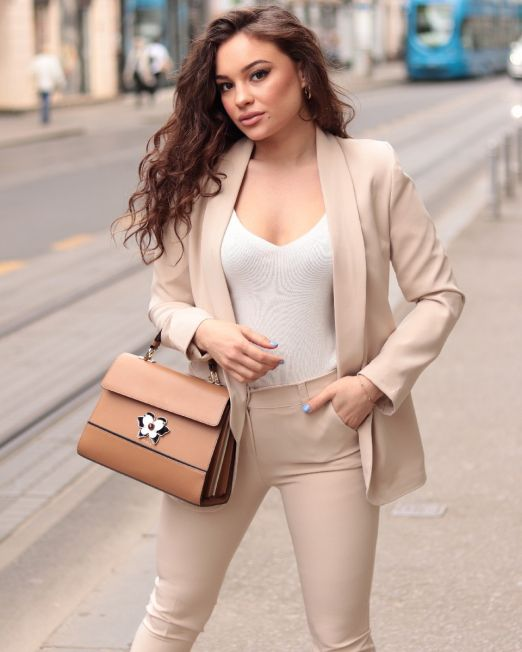 Meg Blazer Trouser Set (8)