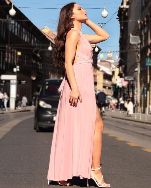 Larisa Dress Pink (2)