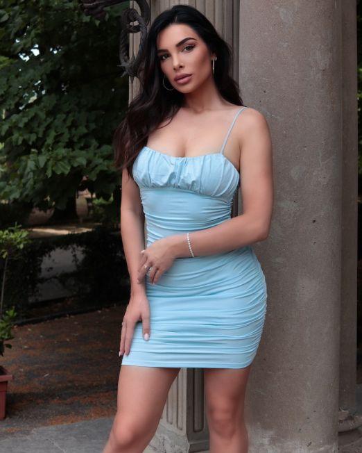 Alessia Push Up Padded Midi Dress (3)