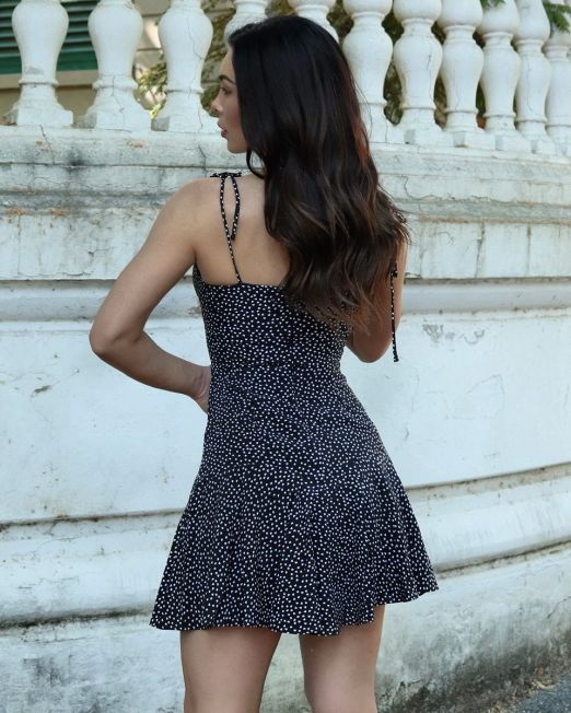 Greta Dress With Thin Straps (1)