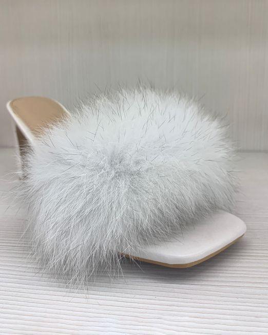 Isotta – Fluffy High Heels Non-slip Summer Sandals With Fluffy Fur Detail (6)